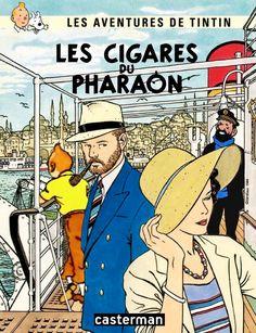 Les Aventures de Tintin - Album Imaginaire - Les Cigares du Pharaon