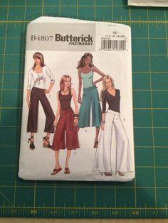 Butterick Women's Palazzo Pants Pattern by ThisLilStashOfMine, $4.00