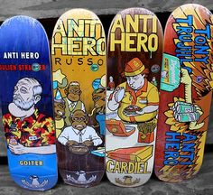 """""""Where are they now"""" Series is Now Available! Anti Hero Skateboards, Guy Stuff, Cool Stuff, Skate And Destroy, Skate Art, Skateboard Decks, Skateboarding, A Good Man, Graphics"""