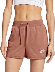 Nike Sportswear Women's Jersey Shorts Size S (Rose Gold) Short Outfits, Summer Outfits, Cute Outfits, Girly Outfits, Lazy Outfits, Beautiful Outfits, Trendy Outfits, Short Niña, Cute Shorts
