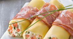 Découvrez ce plat italien par excellence, des cannellonis à la coppa farcis à la ricotta et aux tomates. Un plat très savoureux !