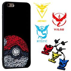 iPhone 7 Pokemon Go Theme Case  Braclet Charm and Decal * Learn more by visiting the image link. (Note:Amazon affiliate link)