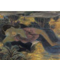 LE PHO 1907 - 2001 REVERIE - 1947 Encre et gouache sur soie.Estimation: 60000  - 80000 €/IMPRESSIONIST & MODERN ART Works on paper, including 142 drawings by Marcel Gromaire École de Paris 1905-1939, including the Shmuel and Tamara Givon Collection, Tel-Aviv  THURSDAY 2nd APRIL 2015 AT 10:30AM AND 2:30PM