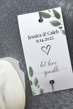 Wedding Sparkler Tag, Greenery Send Off Tag, Editable Tag, 100% Editable, Let Love Shine, Let Love Sparkle Corjl  2021JILLIAN Wedding Ceremony Signs, Wedding Sparklers, Wedding Table Seating, Unplugged Wedding, Seating Cards, Love Sparkle, Wedding Templates, Etsy App