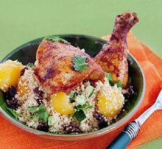 Crispy kylling fra Marokko