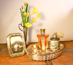 1930s vintage perfume antique collectable bottle ROGER by danycoty, $200.00