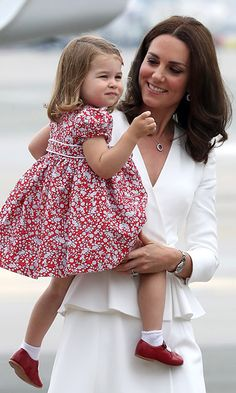 Charlotte and George (not pictured) will spend time with their nanny Maria Borrallo while mom and dad tend to royal duties.    Photo: Getty Images