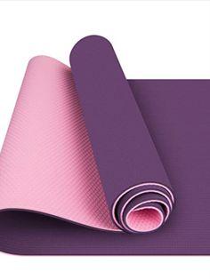 Tappetino yoga perfetto di Toplus: il tappetino per lo yoga è antiscivolo e resistente. Grazie al materiale spesso di 0,6 cm, è particolarmente delicato sulle articolazioni e piacevolmente morbido. Offre il massimo comfort per ginocchia, gomiti e fianchi. Come supporto sicuro, è perfetto per la maggior parte degli stili di yoga, aerobica, pilates, ginnastica, allenamento della schiena e degli addominali, ginnastica per la gravidanza, allenamento, allenamento della forza e ginnastica per…