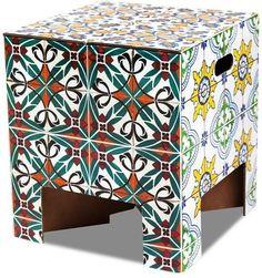 Kruk Vouwkruk Tiles - Dutch Design Chair