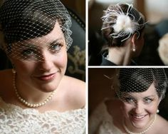 DIY  Do it yourself Bird Cage Veil
