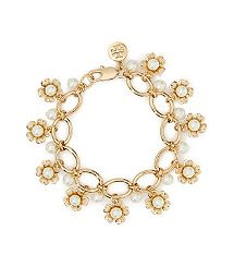 Tory Burch Katie Cluster Bracelet