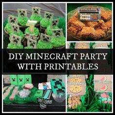DIY Minecraft Party with Printables