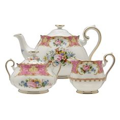 Lady Carlyle one of our favorite tea sets