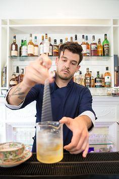 Bartender/Beverage Manager Trevin Hutchins of Tempo Dulu at The Danforth Inn - Portland, ME | StarChefs.com