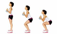 Read how to exercise with kettle bells, a beginner's guide to kettlebell workouts for men and women alike. Start doing different kettlebell exercises today. Total Body Workouts, Full Body Gym Workout, Beginner Workouts, Gym Workouts Women, Squat Workout, Workout For Beginners, Fitness Workouts, Fitness Circuit, Kettlebell Training