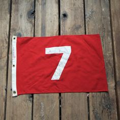 Vintage Golf Flag