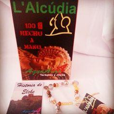 #AquaAura #pulsera #historia de #Elche #bisuteria #joyas #Museo Arqueológico de #LAlcúdia #Minerales #gemstones