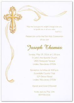 Storkie Communion Invitations is nice invitations layout