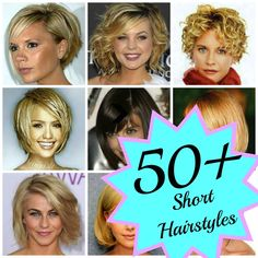 50+ Short Hairstyles | www.classyclutter.net I need to remember this site next time I go to the salon.