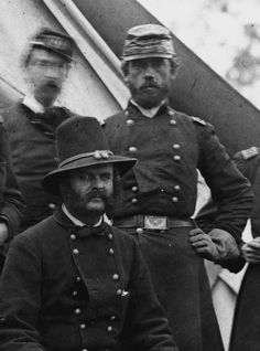 Reynolds with Ambrose Burnside