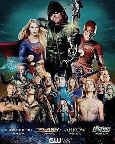 No super girl Batgirl, Supergirl Dc, Supergirl And Flash, Batwoman, The Flash, Series Dc, Arrow Tv Series, Cw Dc, Dc Tv Shows