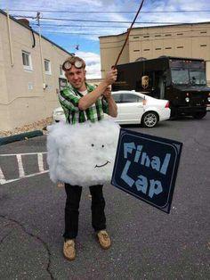 Hahahaha cool costume