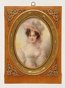 Mrs. Rufus Prime (Augusta Temple Palmer, 1807–1840)  Jean-Baptiste Isabey (French, Nancy 1767–1855 Paris)  Date: 1828