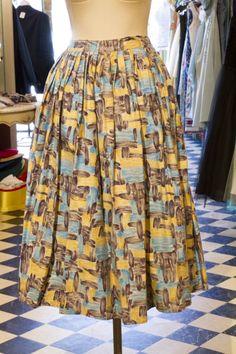Cabaret Vintage - Turquoise, Purple and Yellow Ladies Vintage Skirt, $125.00 (http://www.cabaretvintage.com/vintage-skirts/turquoise-purple-and-yellow-ladies-vintage-skirt/)   #vintageskirt  #vintage #dressvintage #shopping #vintagestore #vintagefashion #ilovevintage #vintagelove #vintagegirl #vintageshopping #vintageclothing #vintagefinds #vintagelover #vintagelook #followme #skirtoftheday #ootd #shopitrightnow #instastyle #torontovintage #toronto #queenwest #cabaretvintage
