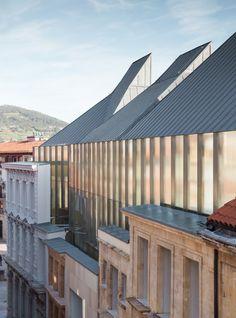 Francisco Mangado - Museum of fine arts of the Asturias, Oviedo...
