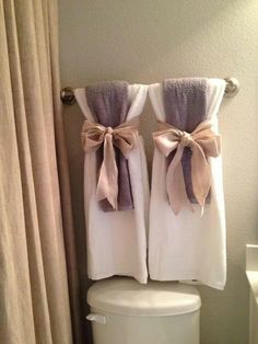 Bathroom Decorating Ideas Towel Rack ways to decorate the towel racks in your bathroom | upstairs