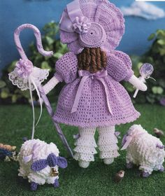 South Maid Fairy Tales Fables & Fantasy Crochet Patterns Book Little ... www.bonanza.com