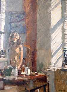 Nude by a window Ken Howard