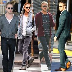 Awesome tips for bros and dads and BroDads alike to stop looking like a bum and start dressing like a boss. Modern Mens Fashion, Latest Mens Fashion, Fashion 101, Fashion Advice, Boy Fashion, Ryan Gosling Style, Textiles, Men Style Tips, Modern Man