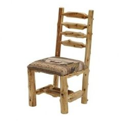 Fireside Lodge Furniture 16155 Cedar Fabric Side Chair