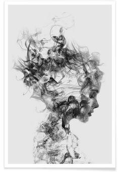 Dissolve Me als Premium Poster von Dániel Taylor | JUNIQE