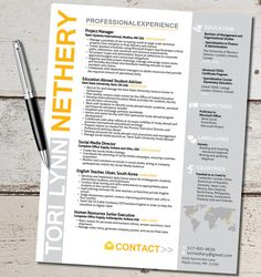 Travel, study abroad, travel for work, sales, business, foreign language, resume, resume design