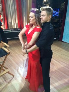 derek hough dwts last night | DWTS Season 18, Week 1 – Derek Hough and Amy Purdy Post Premiere ...