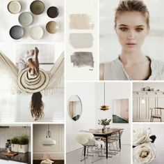Colour love | Creamy, Earthy +  Muted @Karen Darling Space & Stuff Blog leclair! These are nice colors.