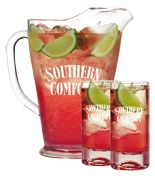 Scarlett O'Hara Pitcher Recipe. 8 oz Southern Comfort, 32 oz cranberry juice cocktail, 5 oz club soda, juice of 1 lime