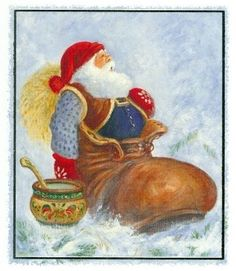 Johnnie Jacobsen Christmas Holidays, Christmas Crafts, Beautiful Christmas, Gnomes, Elves, Thank You Cards, Art Drawings, Disney Characters, Norway