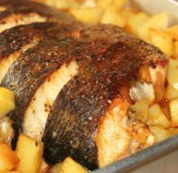 Receita: Corvina no forno com batatas