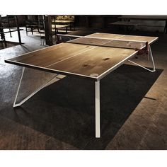 #ShareIG Just finished this Ping Pong table and realized I have no paddles to try it out with.