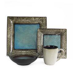 American Atelier Via Roma 16-piece DInnerware Set - Overstock™ Shopping - Great Deals on American Atelier Casual Dinnerware