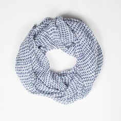 Soft, gauzy cotton scarf by Hallie Gray. Summer must-have.