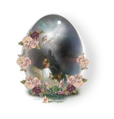"""""""Easter Glass Egg"""" by ragnh-mjos ❤ liked on Polyvore featuring art"""