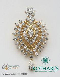 Diamond Pendant, Diamond Jewelry, Gold Jewelry, Jewelry Necklaces, Bangle Bracelets, India Jewelry, Jewelry Sets, Jewellery, Simple Jewelry