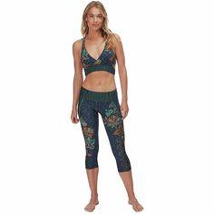 Prana Rai Swim Tight - Women's Yoga Inspiration, Solid Black, Stretch Fabric, Wetsuit, Tights, Swimming, Stylish, Pants, How To Wear