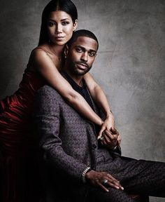Big Sean and Jhené Aiko for #gqstyle. Check out their exclusive shoot—and find out what's next for their collaborative super-group—at link in bio. [ @victordemarchelier]
