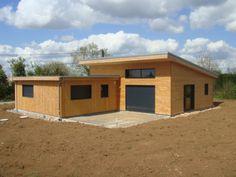 Maison Bois - Kanopy, constructeur de maison en bois à Niort, La Rochelle, Rochefort, Poitiers