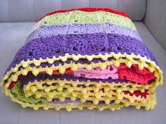 The Festive Blanket - tutorial